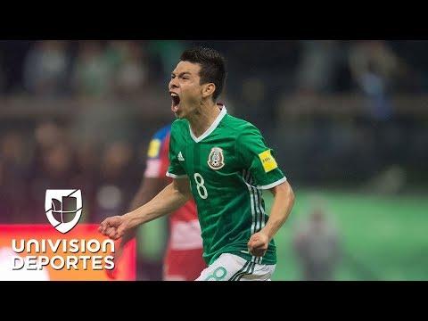 México calificó a Rusia 2018 tras vencer a Panamá con un diabólico gol de Hirving Lozano