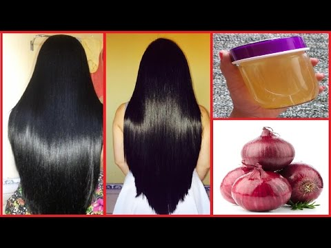 Onion Oil: How to Grow Long Thicken Hair with Onion | Get Long, Thick, Shiny, Smooth Hair