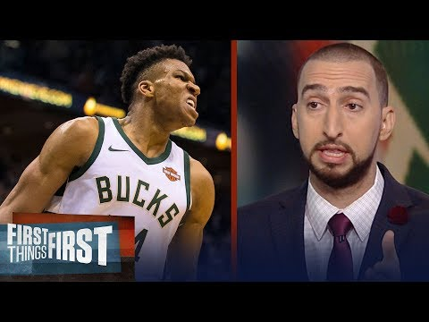 Nick and Cris react to the Milwaukee Bucks beating the Cleveland Cavs 119-116   FIRST THINGS FIRST