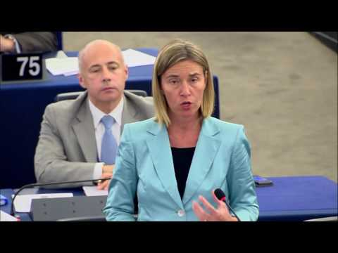 A global strategy for the EU's Foreign and Security Policy: opening statement by Mogherini at the EP