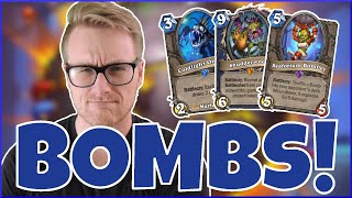 Hearthstone | Bomberman! | Wild Shudderwock Mill Shaman | Rise of Shadows