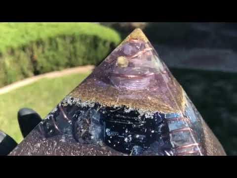 Jumbo Giza Equalizer (pulsed pyramid) - radionics