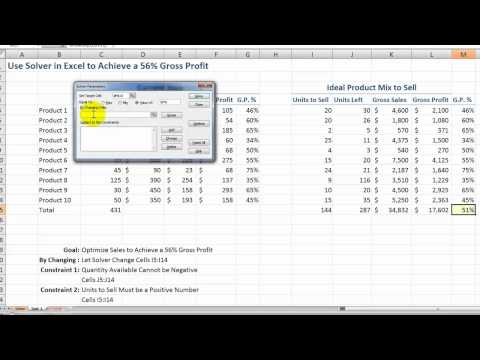 how-to-use-the-solver-tool-in-excel
