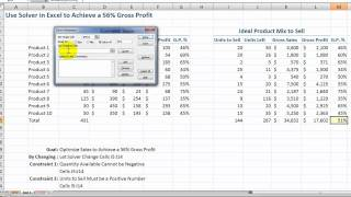How to Use the Solver Tool in Excel(In this tutorial, I introduce you to the powerful SOLVER Tool in Excel, Solver is an