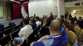 17.10.2018 Встреча с управой .М24 тоже присутствовала. часть 2