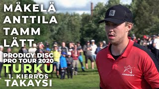 Prodigy Disc Pro Tour 2020 TURKU - MPO Feature Card 1. kierros takaysi