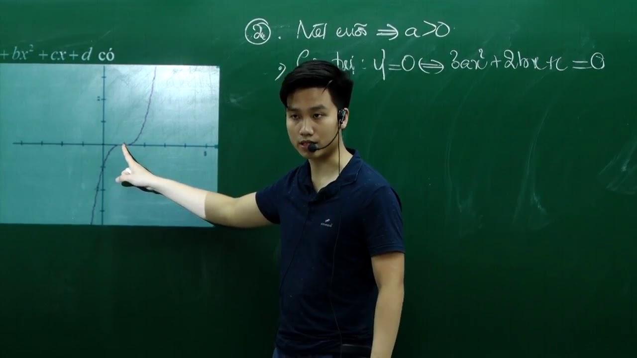 Các dạng đồ thị khó trong đề thi – Thầy Nguyễn Quốc Chí