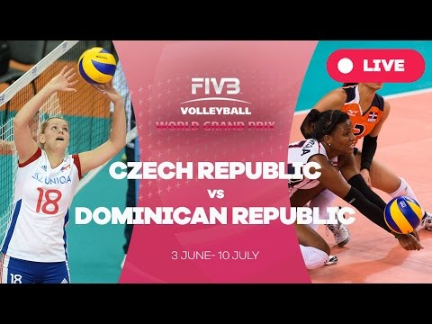 Czech Republic v Dominican Republic - Group 2: 2016 FIVB Volleyball World Grand Prix
