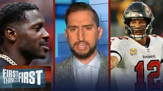 Antonio Brown deal shows Brady's power over Bucs organization - Wright | NFL | FIRST THINGS FIRST