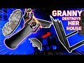 GRANNY BREAKS EVERYTHING IN HER OWN HOUSE!!! | Granny The Mobile Horror Game (Knock Offs/Rip Offs)