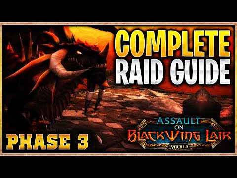 Blackwing Lair Guide | Mechanics & Strategy For All Bosses In Phase 3 Of Classic Vanilla WoW