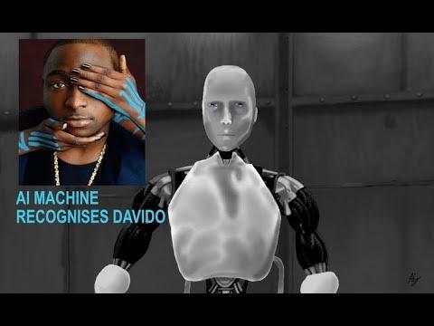 AI Robot Alexa Recognises African SuperStar DAVIDO