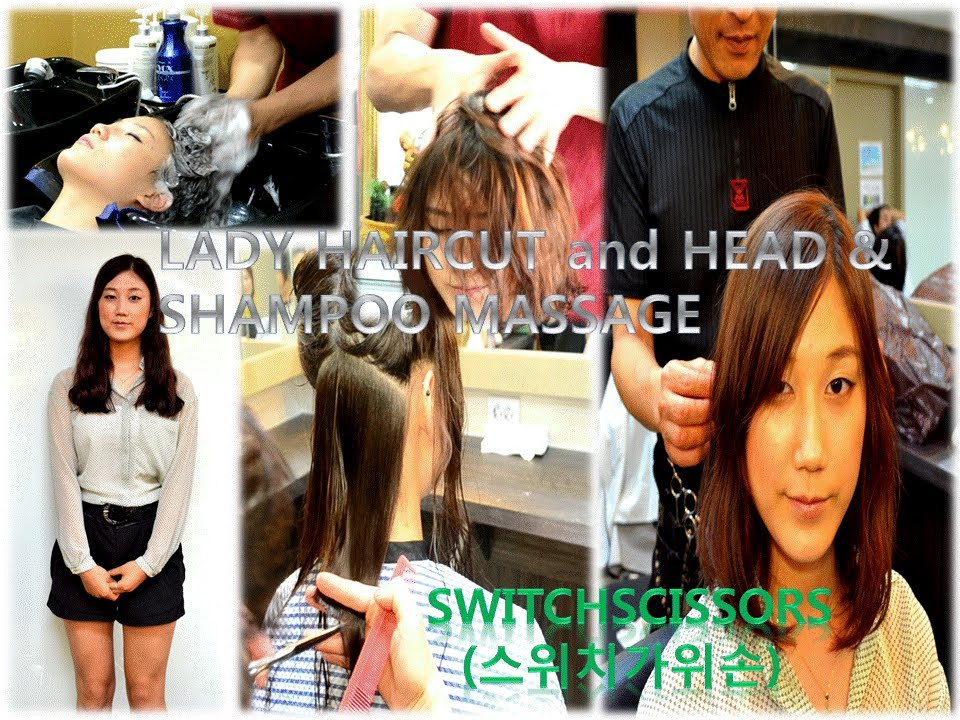 Haircut Head Shampoo Massage Youtube