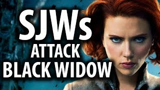 SJWs Attack Black Widow For Upstaging Captain Marvel