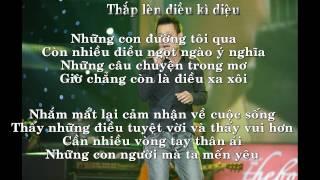 Thắp Lên Điều Kỳ Diệu (Lyrics)