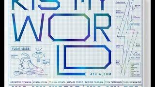 KIS-MY-WORLD(初回生産限定盤A)(CD2枚+DVD)(LIVE CD盤) CD+DVDリリース告知