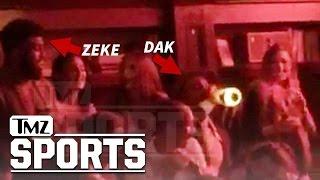 Ezekiel Elliott & Dak Prescott Go Monday Night Clubbin'   TMZ Sports