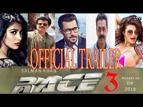 Official Trailer Race 3 Salman Khan Jacqueline Fernandez Anil Kapoor Bobby Deol UTV Motion thumbnail