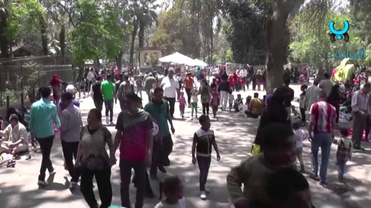 شاهد مظاهر احتفالات فى يوم شم النسيم