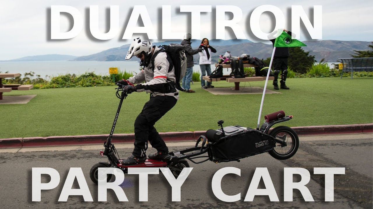 Party Trailer for Dualtron Thunder Electric Scooter, Build ...