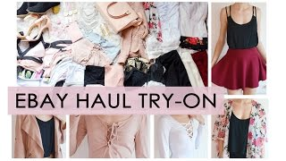 EBAY HAUL // Try-on REVIEW video // what to buy what not to buy
