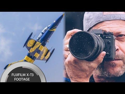 FUJIFILM X-T3 Sample Footage