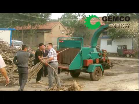 Gemco Hammer Mill Machine Working Process – Wood Crushing Machine