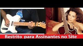 "Guitarra Country - ""Man! I Feel Like A Woman"" (Shania Twain) - Cordas e Música"