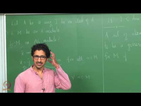 Lecture 10 -  Operations on Modules (Continued)