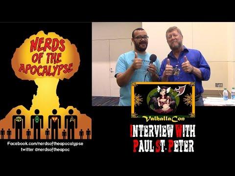 ValhallaCon 2015 - Interview w/ Paul St. Peter