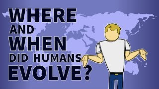 Where and When Did Humans Evolve? | The Advanced Apes | PBS Digital Studios