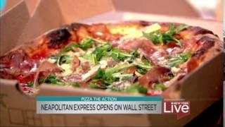 Neapolitan Express Opens on Wall Street