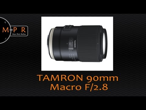 Tamron SP 90mm F/2.8 Di MACRO 1:1 VC USD - Le test complet