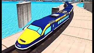 Train Simulator Games - Level 6-8 (ALP GAMES)