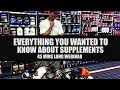 All you ever wanted to know-  Supplements and Anabolics