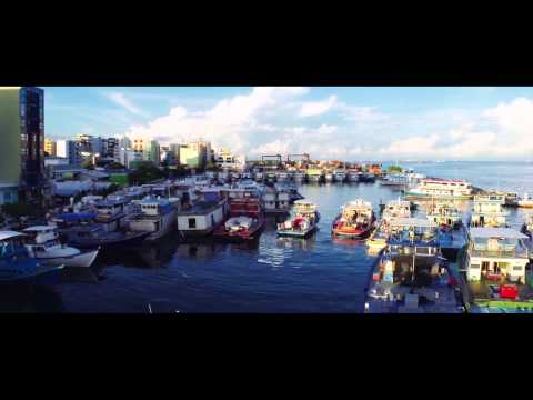 The floating capital of Maldives