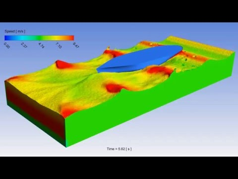 CFD Simulation - Ship Breaking Waves