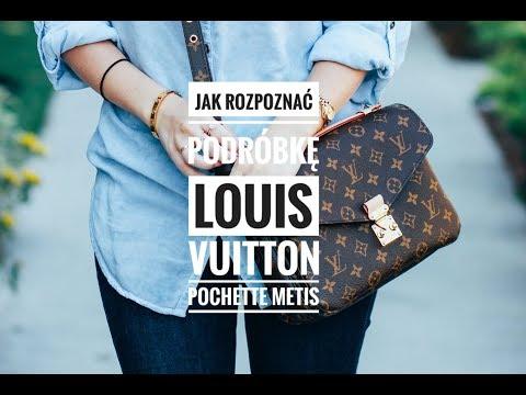 91c3c3c915f2f Jak rozpoznać podróbkę Louis Vuitton Metis Pochette / How to spot fake LV  Metis Pochette - YouTube