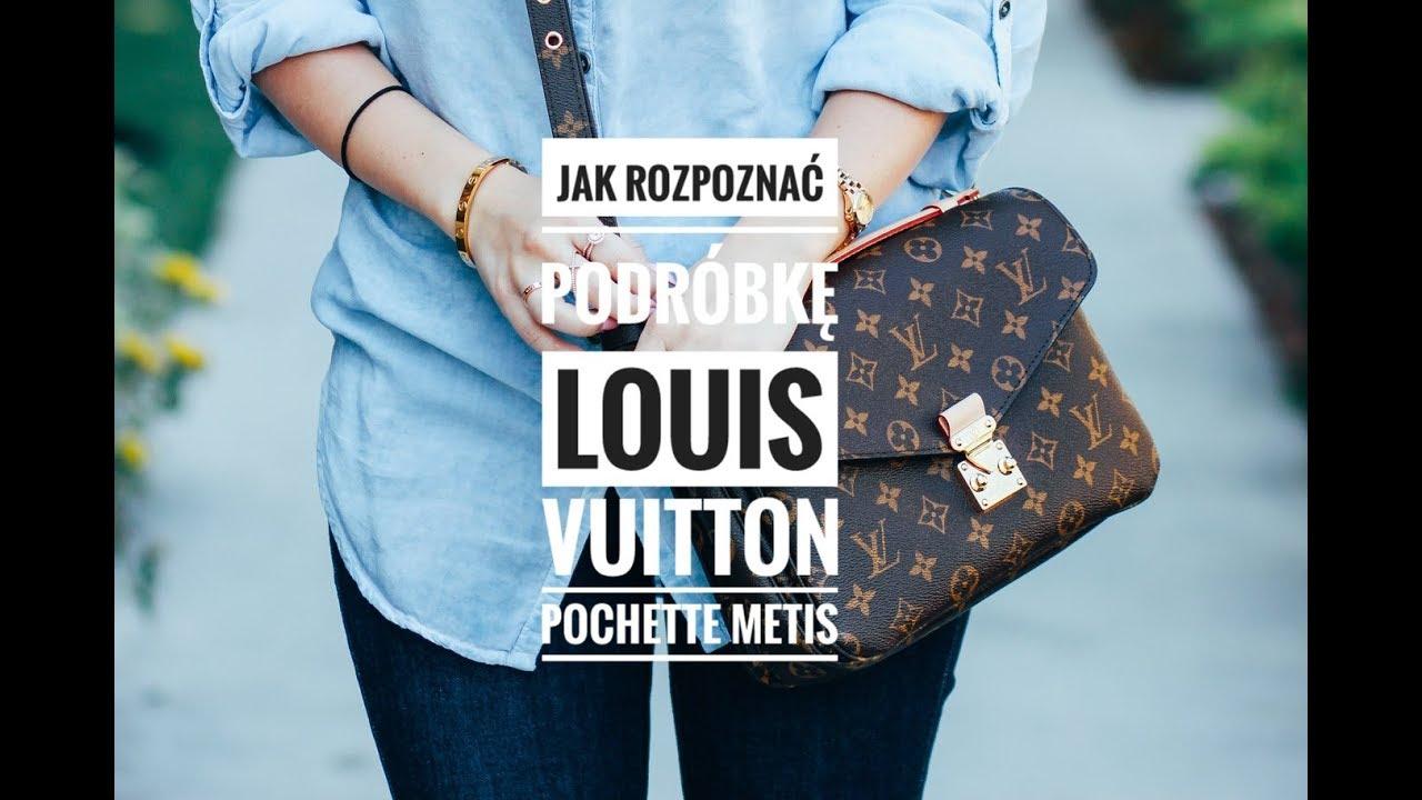 ca340c0e6915f Jak rozpoznać podróbkę Louis Vuitton Metis Pochette / How to spot fake LV  Metis Pochette. Jest Pieknie