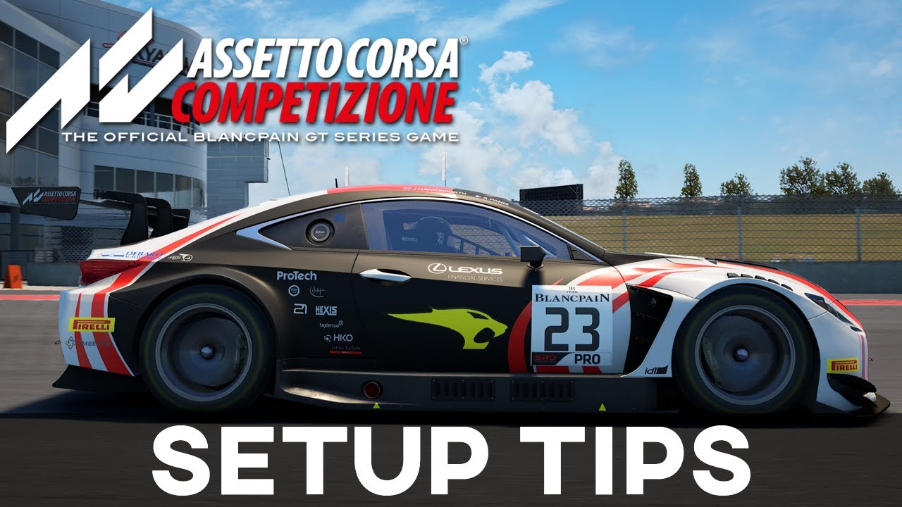 Jardier Basic Setup Tips To Improve AC Competizione