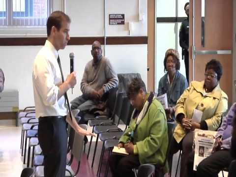Budget Talk Rawson School Auditorium