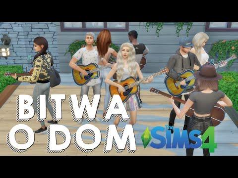 BITWA O DOM #4 Sims 4 | HOTEL I GITARY