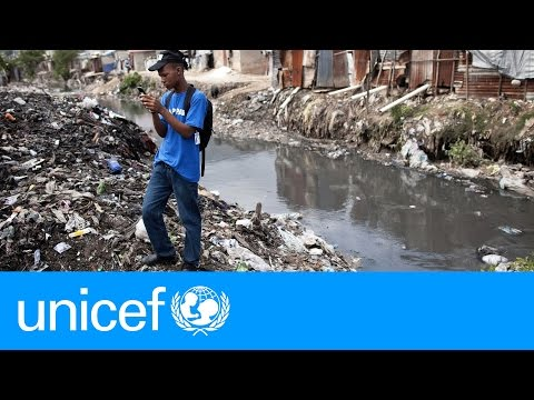 Haiti youth map a city's risks, one click at a time | UNICEF