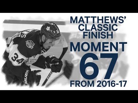 No. 67/100: Matthews' overtime winner at the NHL Centennial Classic