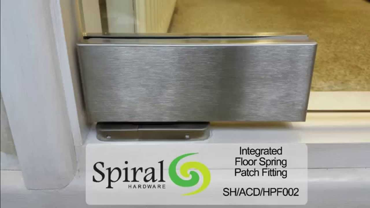 Integrated Floor Spring Patch Fitting Youtube