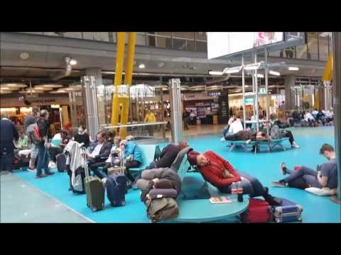 مطار مدريد الدولي اسبانيا  Madrid-Barajas International Airport