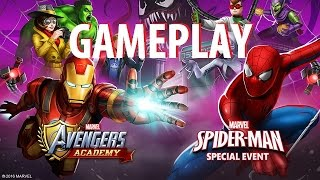 MARVEL Avengers Academy Gameplay (By TinyCo) iOS / Android Video HD
