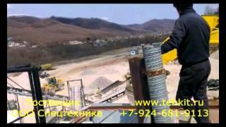 Дробильный комплекс мобильный в Приморье. Производство КНР(, 2015-04-28T05:19:34.000Z)
