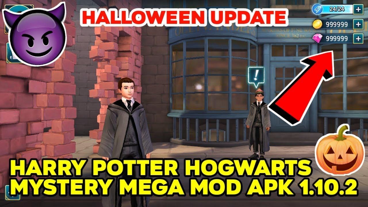 Harry Potter Hogwarts Mystery MOD APK 1 10 2 (Halloween Update) by  Daredevil Sahil