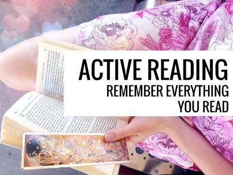 Active Reading // 3 Easy Methods